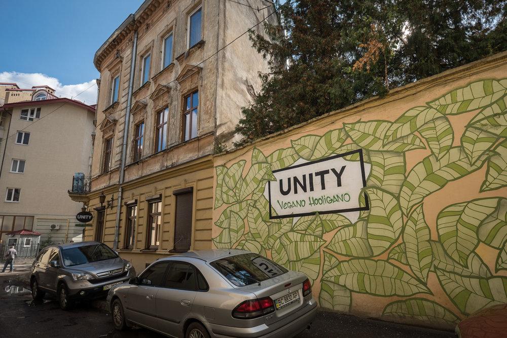 Vegano Hooligano in Lviv