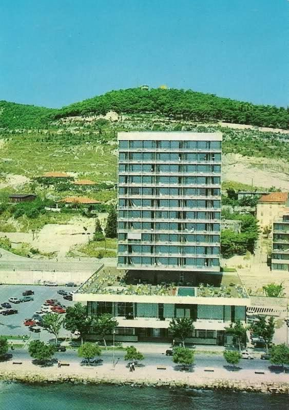 Hotel Marjan, circa 1963 (photo credit:  Pinterest )