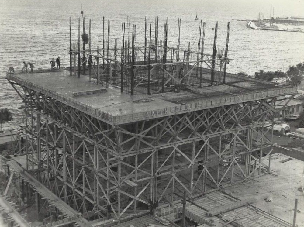 historic photos of Marjan's construction courtesy Emil Strniša
