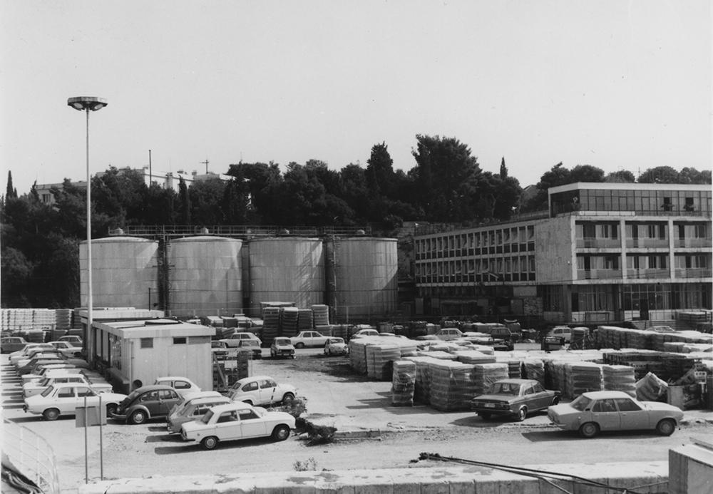 photo of facility, circa 1960 to 1980 (photo credit:dalmacijavino.hr)
