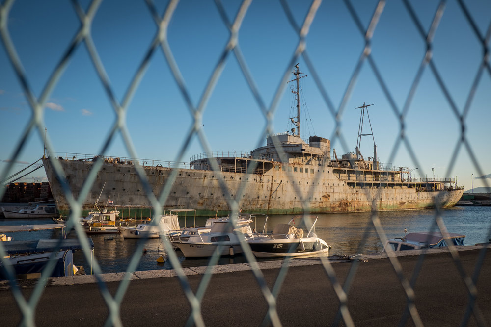 Tito's yacht, Galeb