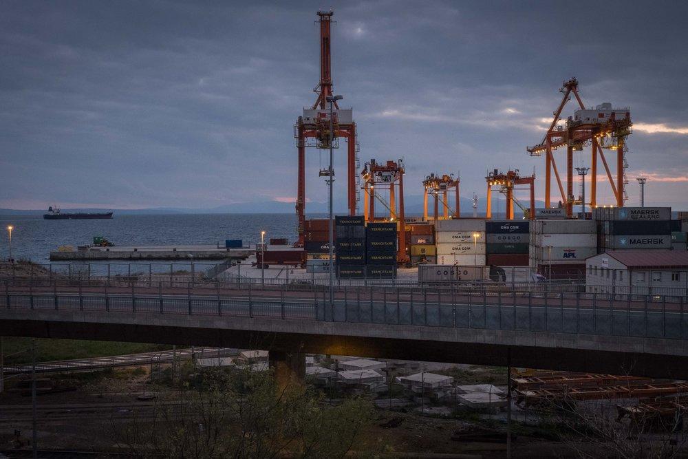 Rijeka is still an important port city