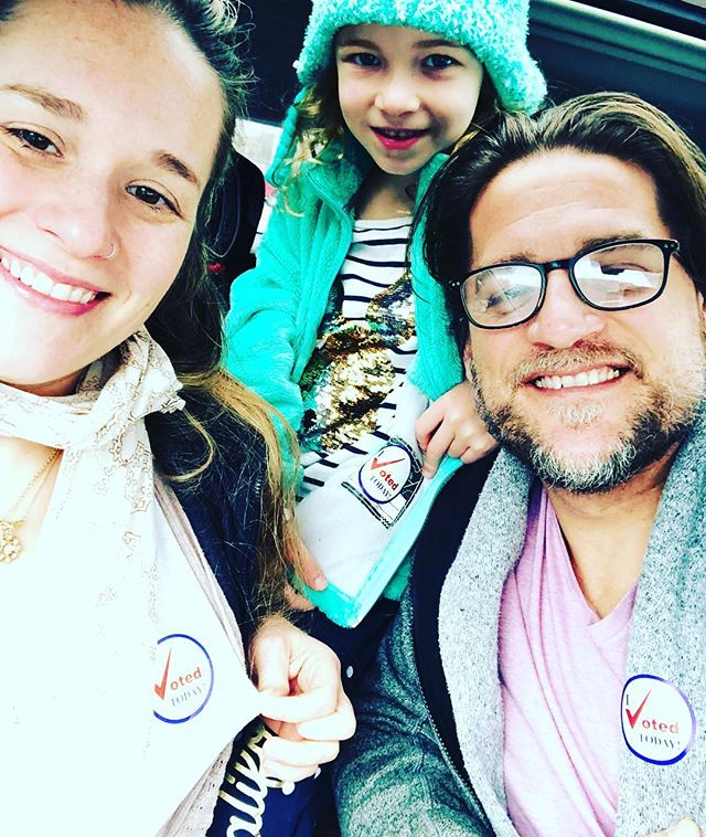 We exercised our right to vote today. Did you? #vote