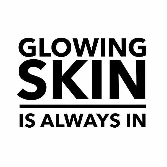 Yes! Get the freshed face glow with healthy skin... keep it that way with wonderfully clean products!