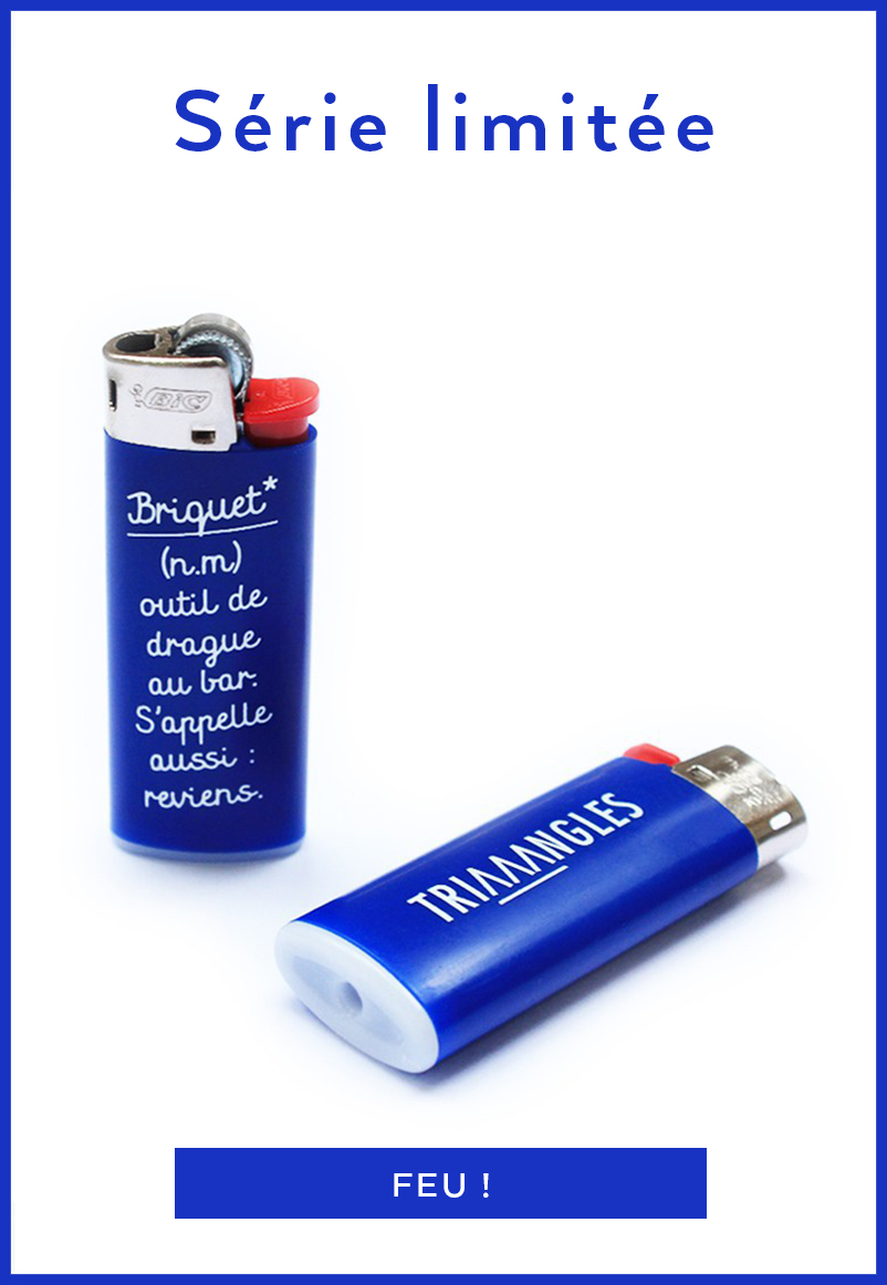 Briquet* - Less is More pour Triaaangles x BIC