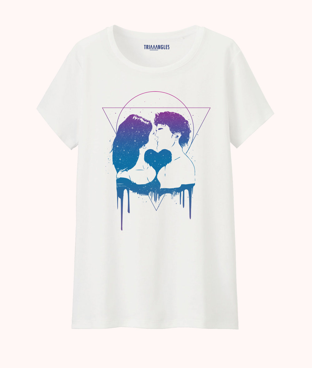 Exclusivité Web - Tshirt Cosmic Love par Soltib - 29€90