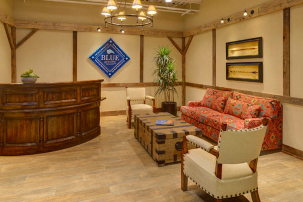 Rustic Lobby and Conference Room