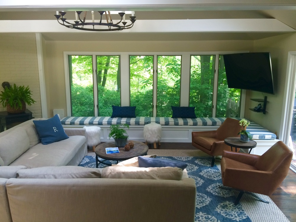 Blue Family Room