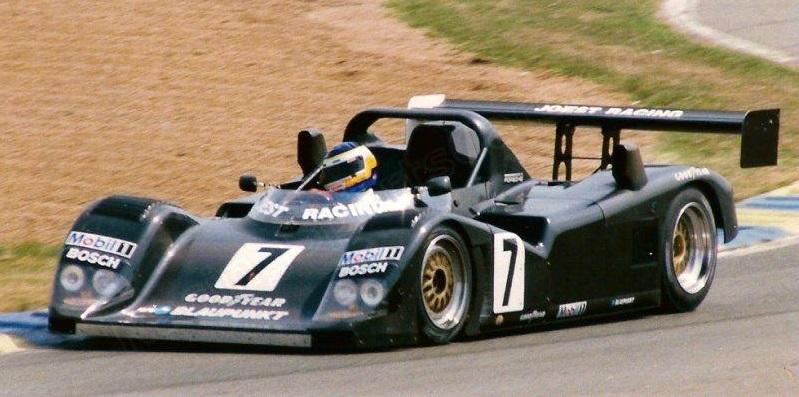 Manuel Reuter (GER) Pre-Qualifying Le Mans 1996.