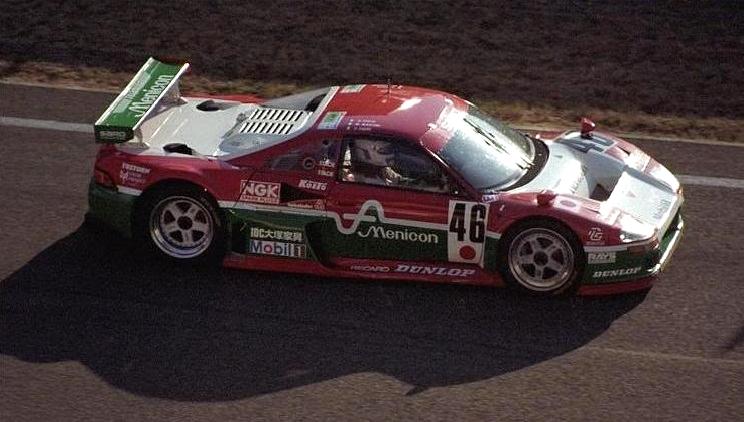 The revised MC8-R, Le Mans 1996.
