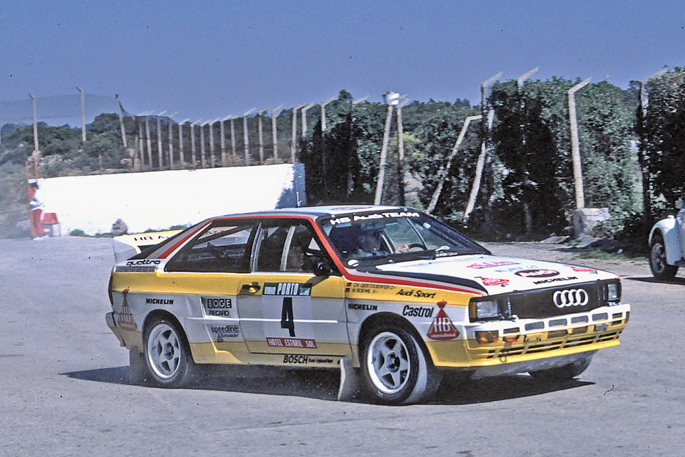 Audi's quattro inspired Citroën to pick up the Group B fight.