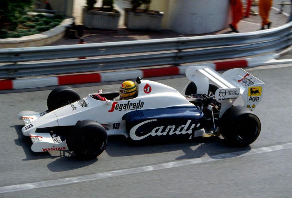 Ayrton Senna, qualifying Monaco Grand Prix 1984.