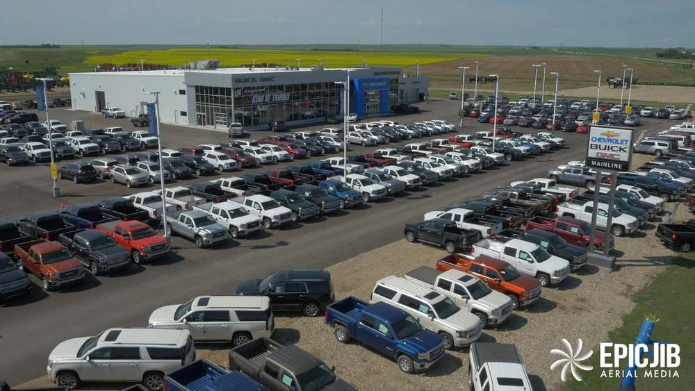 One of many domestic dealerships with massive truck inventories.