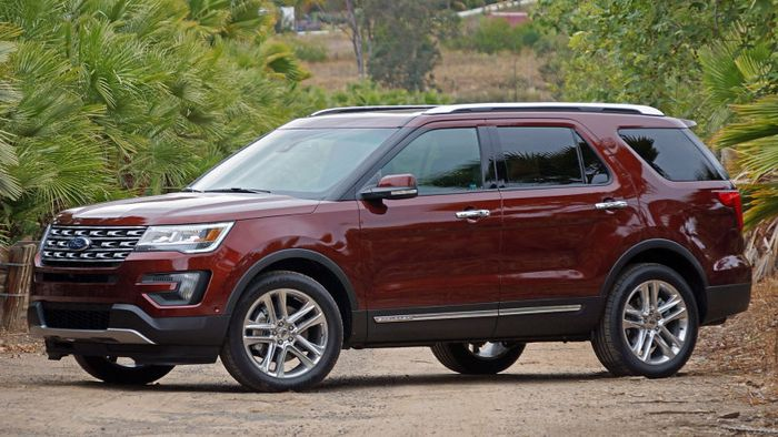 Ford Explorer: the original anti-minivan. (Source: Autoblog)