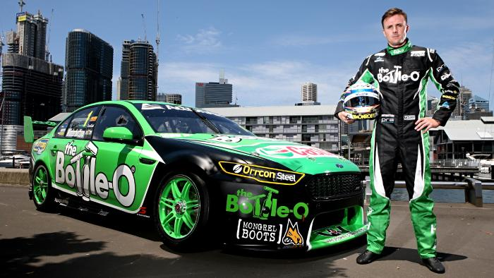 Defending champion Mark Winterbottom
