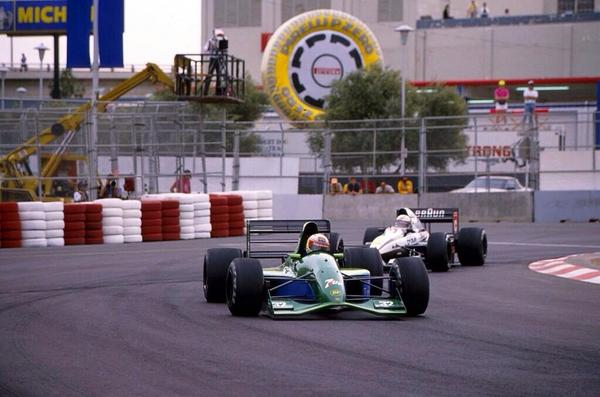 Bertrand Gachot, US GP Phoenix 1991.