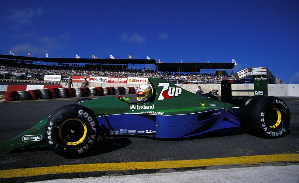 Bertrand Gachot, 1991 Brazilian Grand Prix.