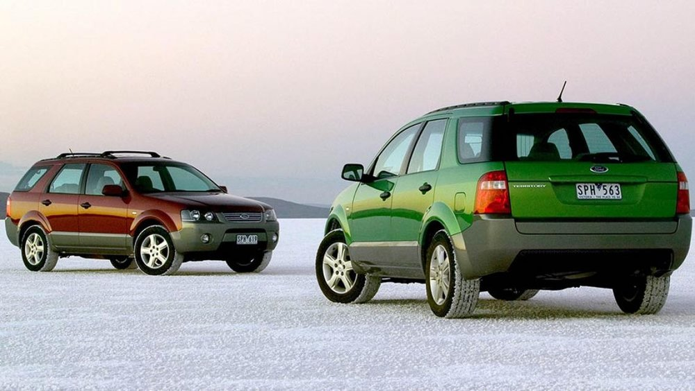 The SX Ford Territory: the car that started the SUV boom.