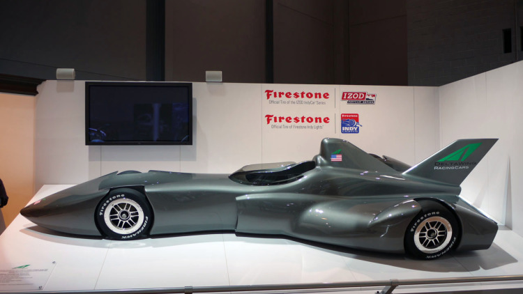 The original IndyCar DeltaWing concept aimed to be the next generation IndyCar.