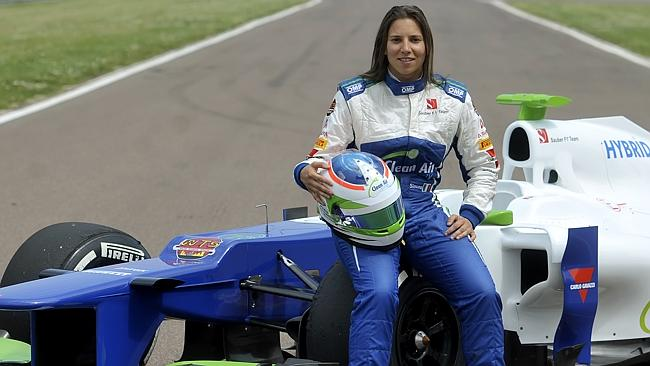 De SIlvestro was a Sauber test driver in 2014