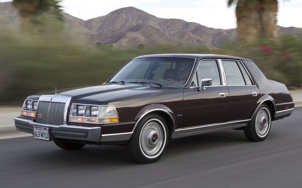 Lincoln tried to fix the Conti's styling in 1984, but it was too little, too late.