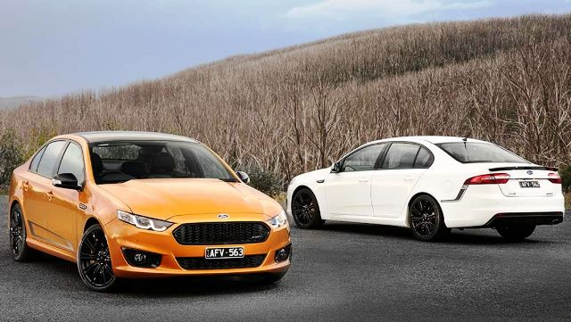 The FG-X XR8 Sprint and XR6 Sprint