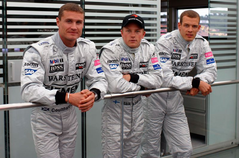 While Kimi and David locking in for a second season, Wurz would provide a lot of supports in testings