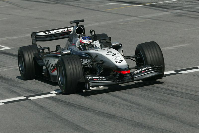 Running out of time, McLaren had to modified the MP4-17 to the MP4-17D