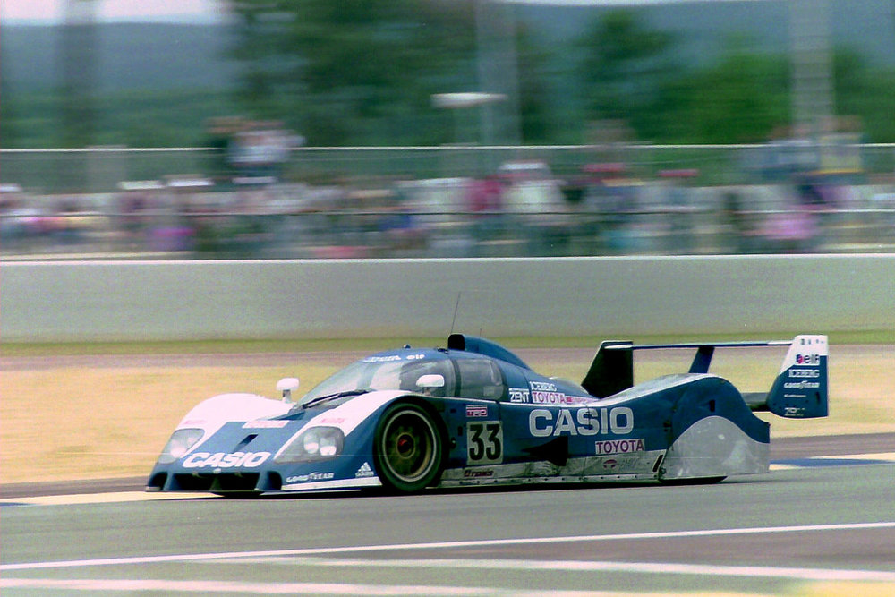 Toyota had been a big part of the 3.5L Group C era.
