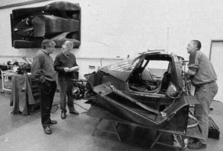 The LMP as a fly on the wall at RTN during construction of an Audi R8C.