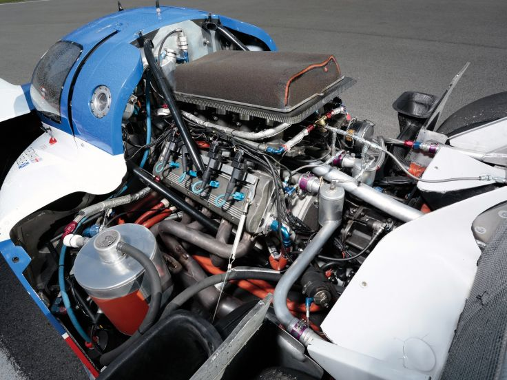 The DB7 GT1's engine came from the failed AMR1 Group C sportscar.