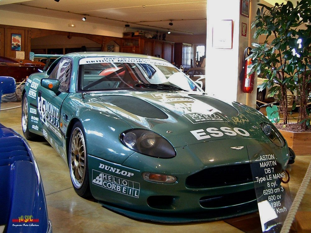 The DB7 on display at Michel Hommell's Manoire l'Automobile museum, Britanny, France.