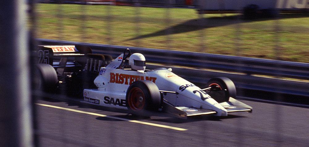 Marco Apicella, Dallara 3087, 1987 Birmingham Superprix F3000.