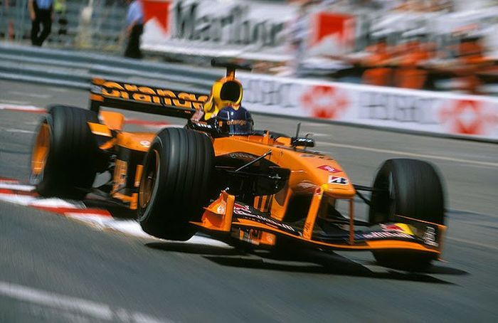 Frentzen again demonstrated his experience in Monaco