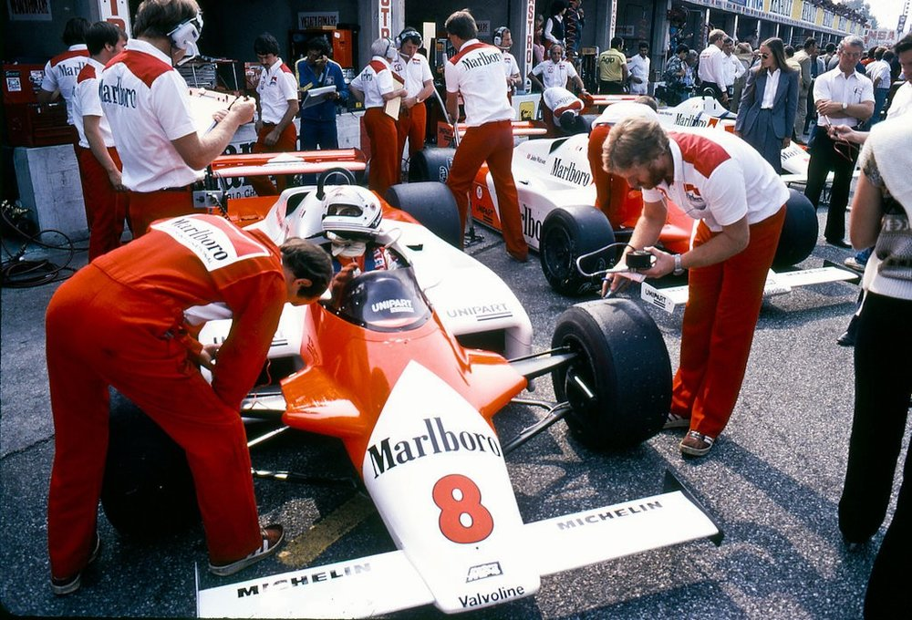 Andrea de Cesaris, 1981 Italian Grand Prix.