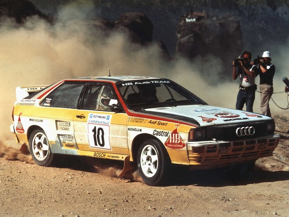 The revolutionary quattro advanced the brand in more ways than one.