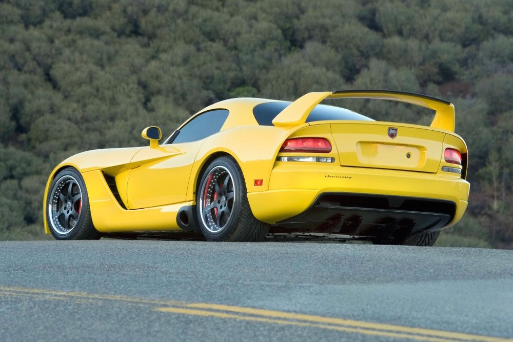 The Hennessey Dodge Viper SRT-10 Venom 1000TT