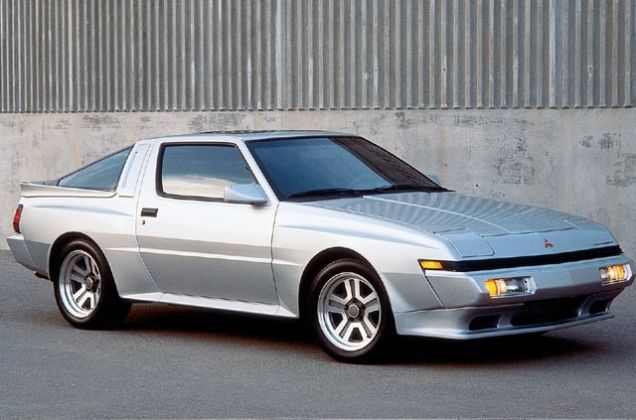 The butch Starion was to be Mitsubishi's Group B hero.
