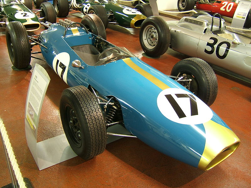 The BT3 was the first Brabham F1 car. The team would adopt Australian green and gold for the following year's BT7
