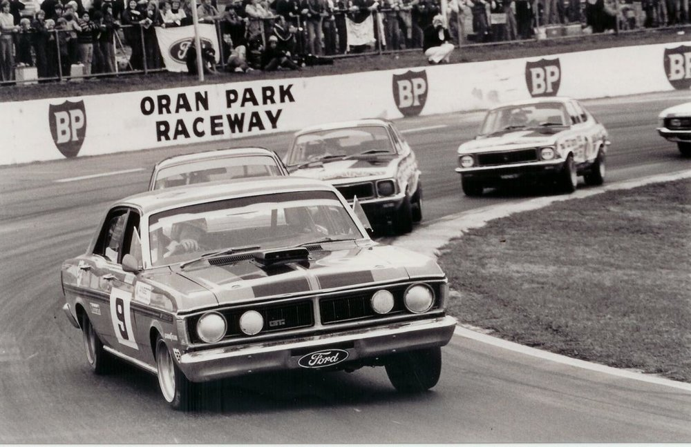 Our love of touring car racing meant out muscle cars had to handle