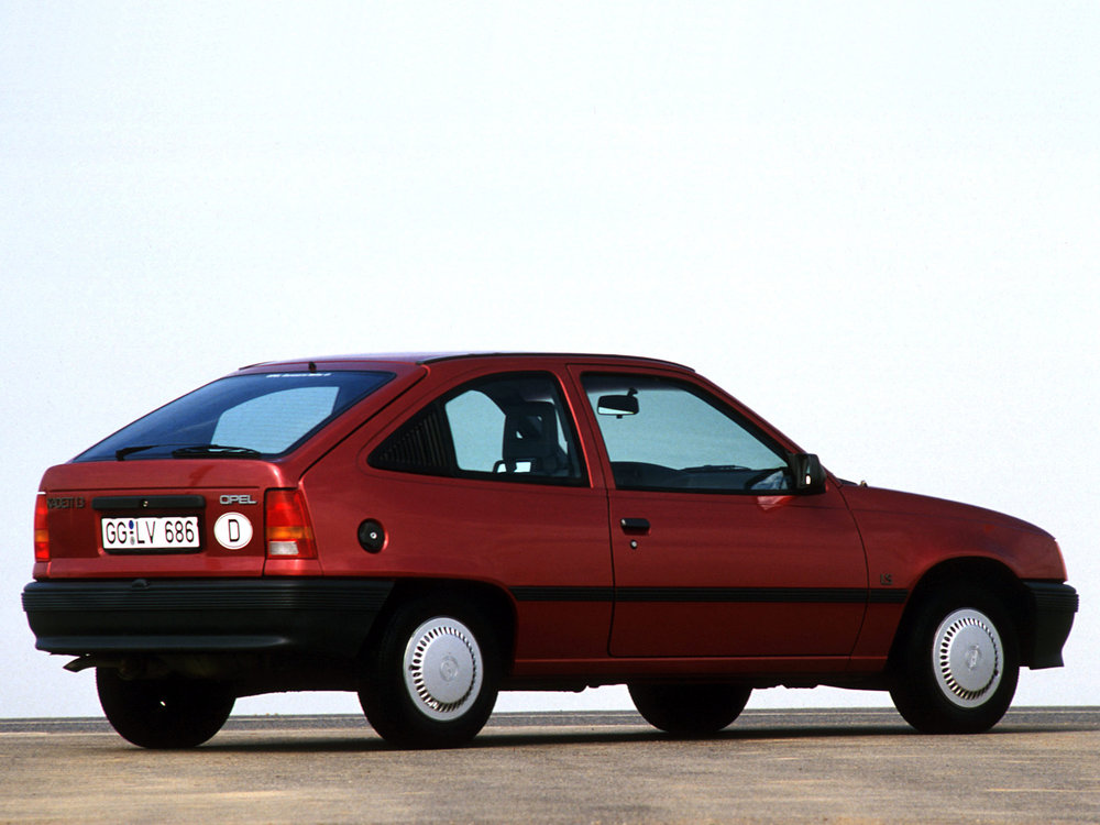 The humble family hatchback was to become Opel's new rally monster.