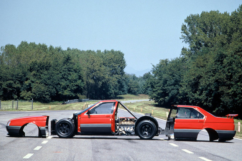The failed 164 Procar project provided the engine for Alfa's new Group C challenger.