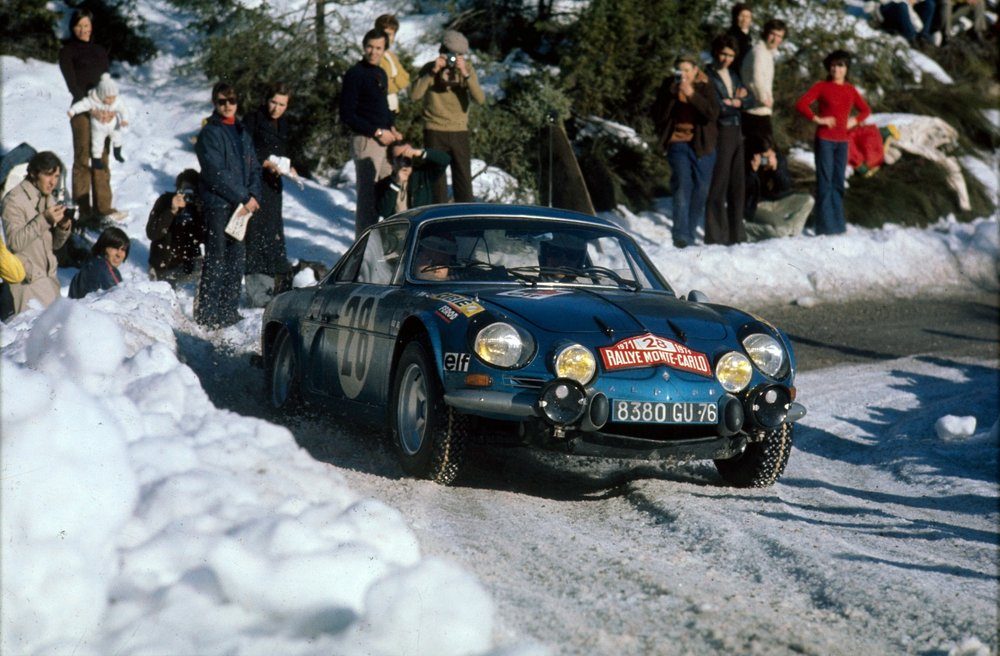 The amazing A110 rally car propelled the small company to world fame.