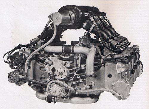 Porsche's Typ 935 Indycar engine.