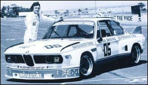 The BMW Brock drove in 1976