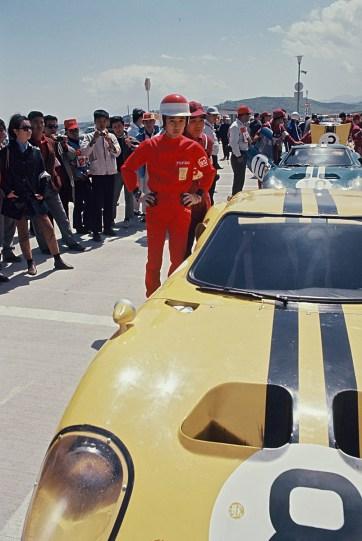 Rare photo of the 3rd Japan Grand Prix, 1966.