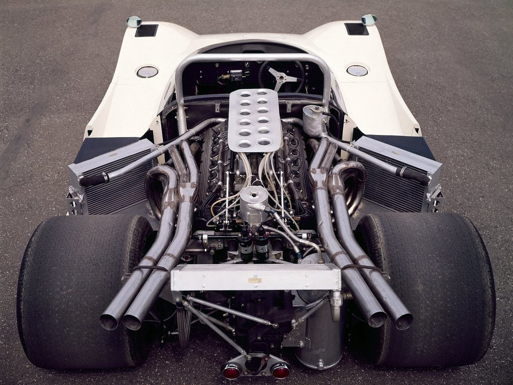 The R383 received a very different radiator arrangement.
