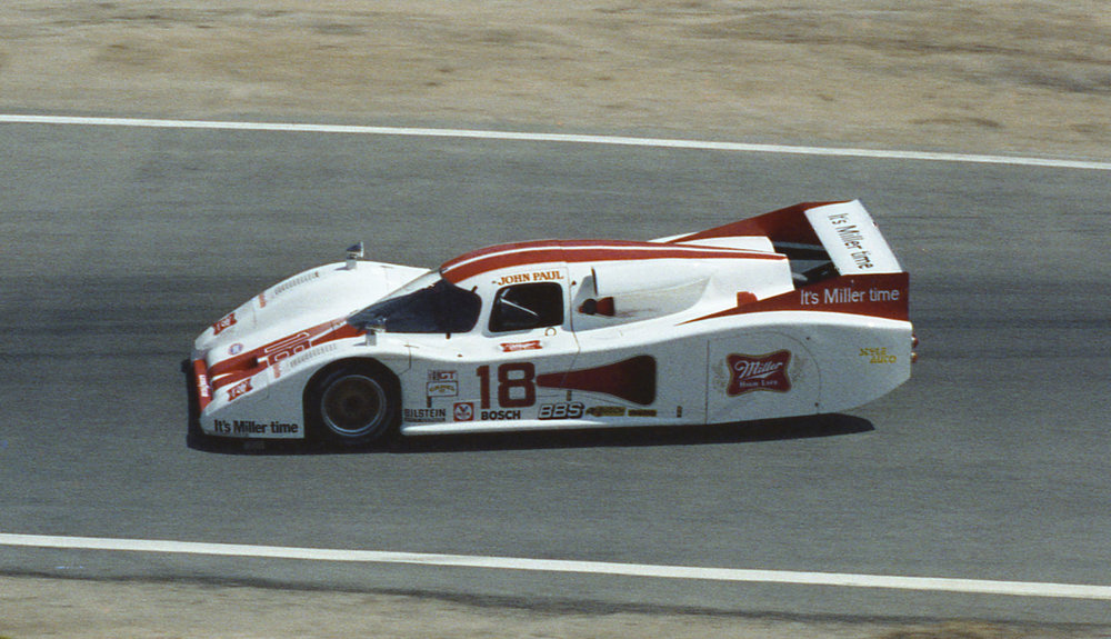 Chevrolet's GTP program started with the Lola T600.