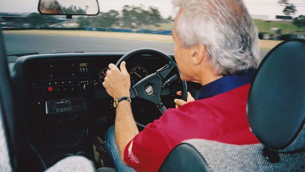 Peter Brock was still familiar with the Monza when he drove it in 2005, 20 years after selling it.
