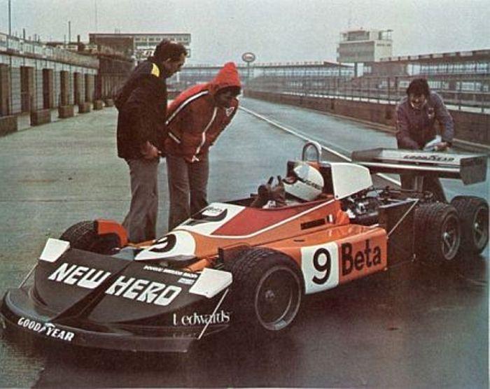 Howden Ganley, Silverston test 1976.